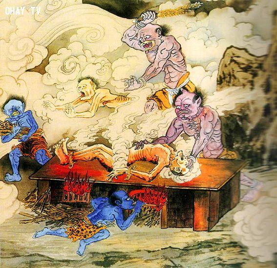 ảnh Hình phạt,địa ngục,tầng địa ngục,sau khi chết,linh hồn,địa phủ