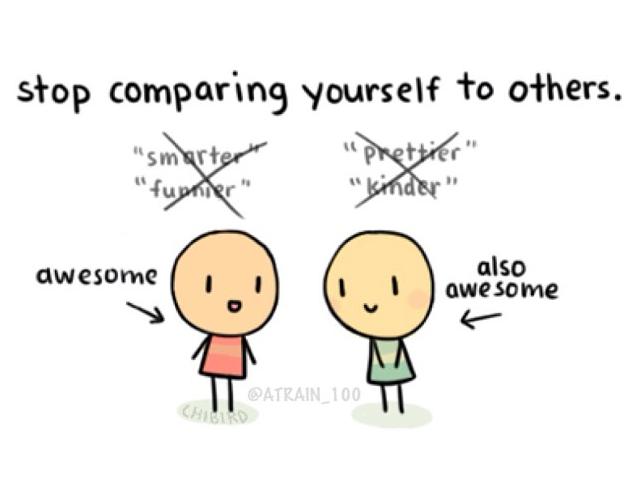 so sánh mình vói người khác
