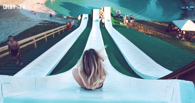 ảnh công viên giải trí,máng trượt,Texas,Cable BSR