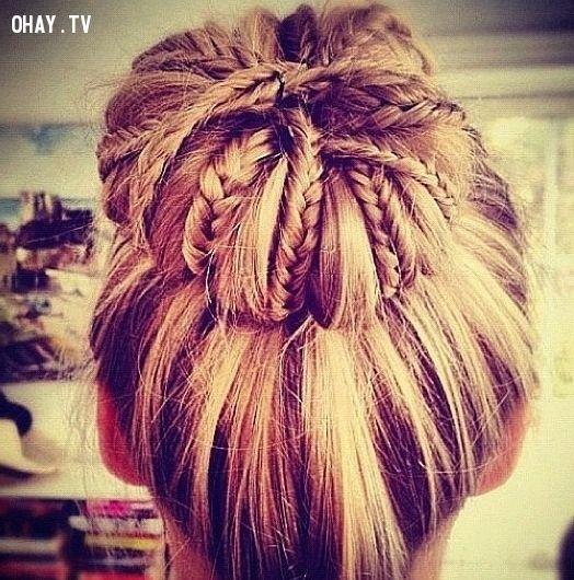 10 kiểu tết tóc đẹp nhất dành cho các bạn nữ tóc dài, nhìn phát yêu luôn