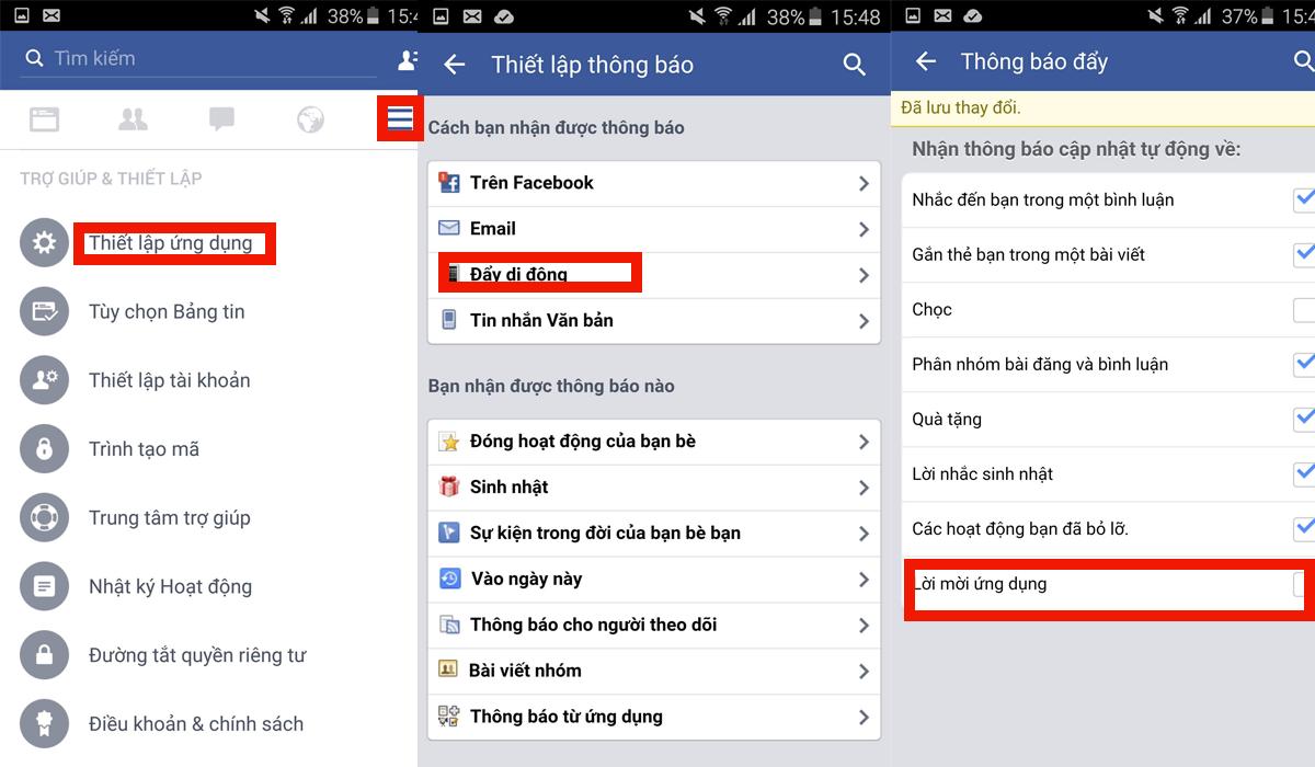 Cách chặn lời mời dùng App đơn giản mà hiệu quả trên Facebook