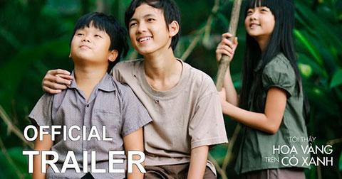 Tôi Thấy Hoa Vàng Trên Cỏ Xanh - bộ phim điện ảnh Việt Nam được mong chờ nhất trong năm nay.