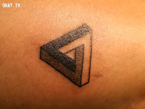 hình xăm tam giác, hình xăm, hình tam giác, tam giác, nam nữ, đẹp mê ly