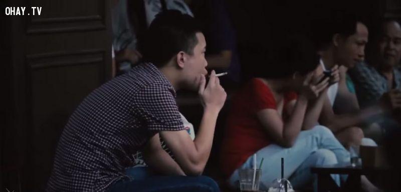 ảnh Trẻ con hút thuốc,hút thuốc lá