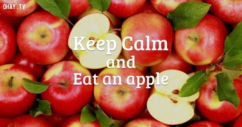 ảnh ăn táo mỗi ngày,lợi ích của ăn táo,quả táo