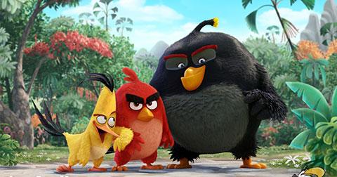 The Angry Birds Movie - bộ phim được lấy cảm hứng từ game Angry Birds gây sốt 1 thời