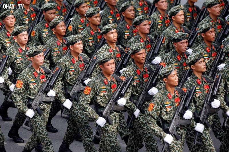 ảnh báo Mỹ,quốc khánh,Việt Nam,diễu binh