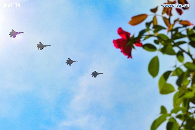 ảnh Trung Quốc,diễu binh,kỉ niệm,chiến tranh,phát xít,ngày chiến thắng