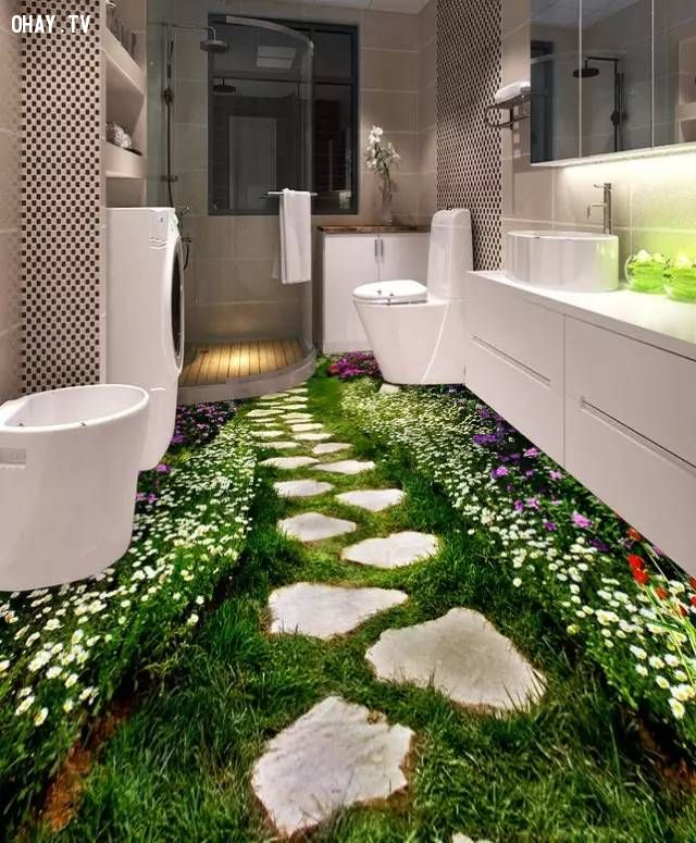 ảnh sàn nhà 3D,sàn nhà đẹp,nhà đẹp,xu hướng nhà mới
