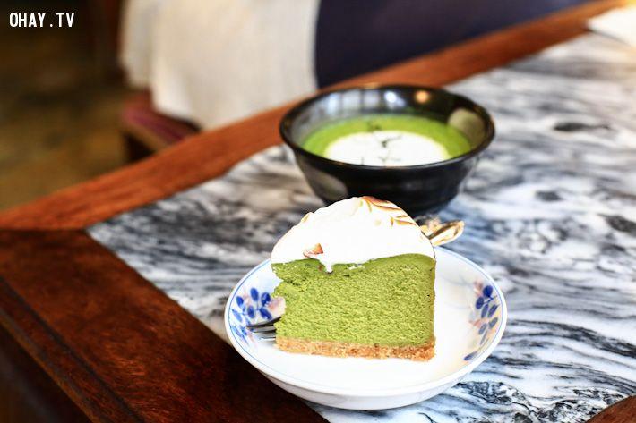 ảnh Hong Kong,trà xanh,tráng miệng