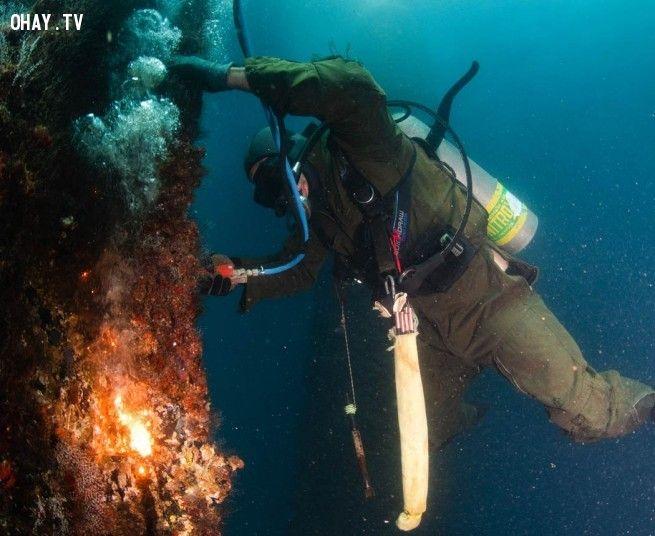 Nghề hàn dưới nước