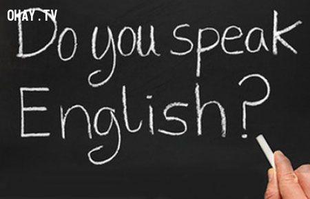 bạn có thể nói tiếng anh không