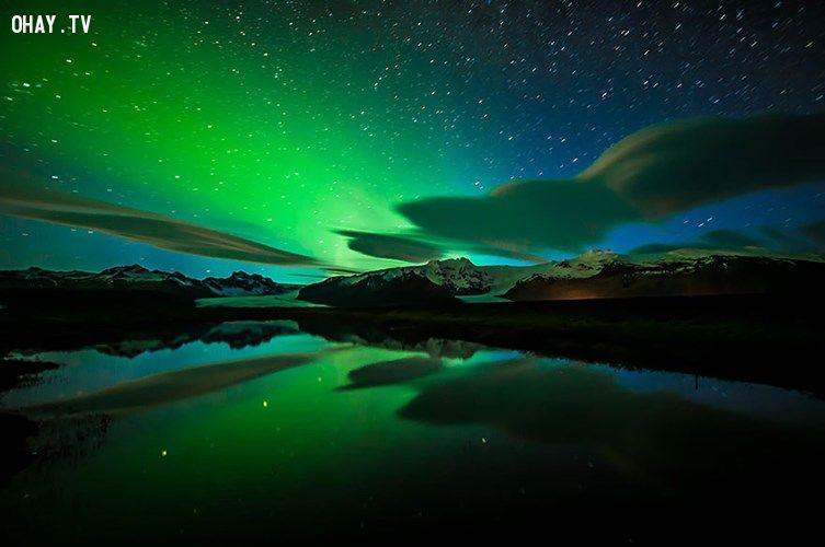ảnh Iceland,băng và lửa