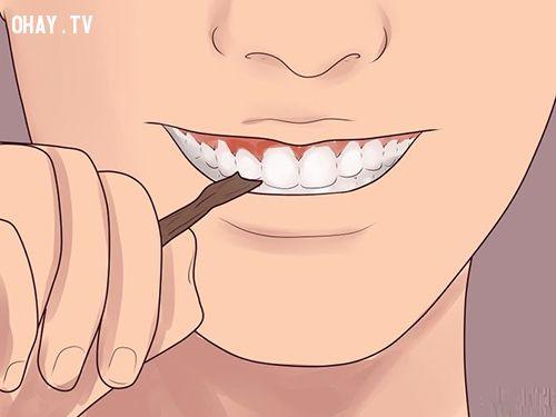ảnh làm sạch răng,hơi thở thơm mát,vệ sinh răng miệng,chăm sóc răng miệng