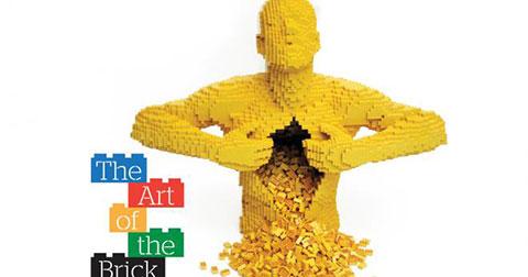 Bạn sẽ không tin những tác phẩm nghệ thuật này được ghép từ LEGO.
