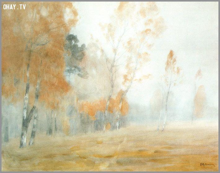 Sương mù. Mùa thu.