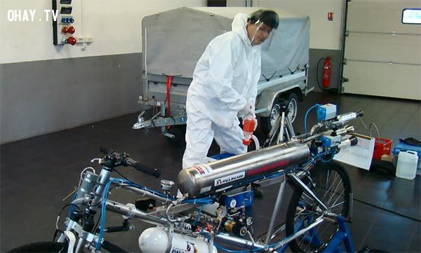 ảnh xe đạp chế