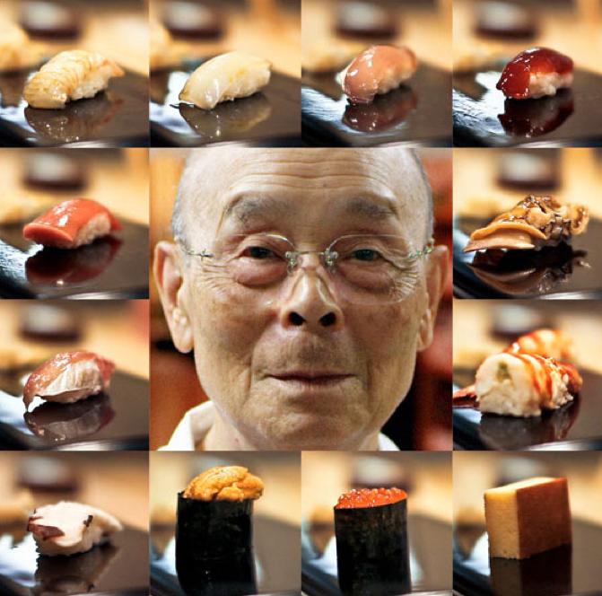ảnh Jiro Dreams of Sushi,Nghệ nhân sushi