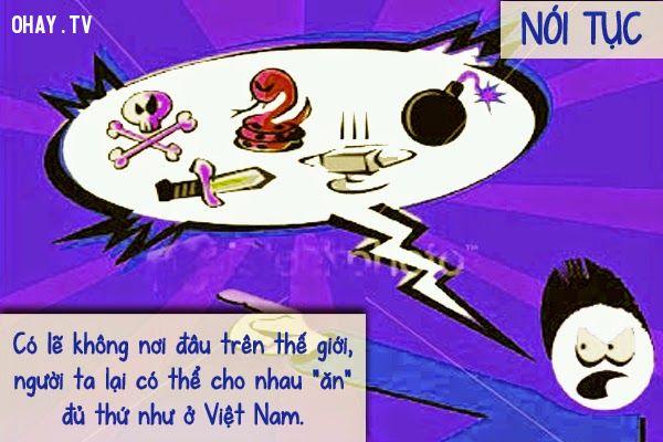 ảnh người Việt,tật xấu