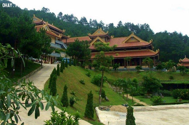 ảnh Đà Lạt,thiền viện Trúc Lâm,Thác Voi,thành phố Đà Lạt