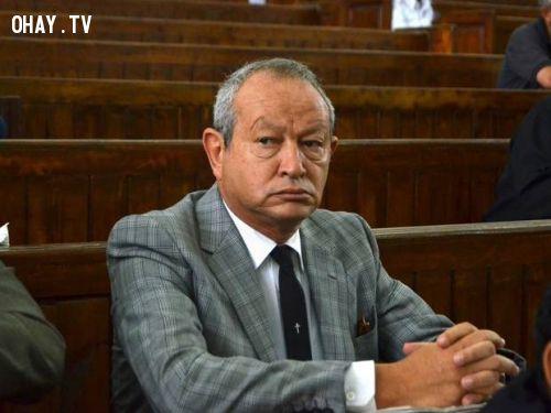ảnh tỷ phú ai cập,mua đảo,người tị nạn,Naguib Sawiris