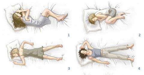 Tư thế ngủ nói lên tính cách của bạn