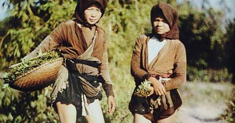 Bất ngờ với bộ ảnh Việt Nam 100 năm về trước