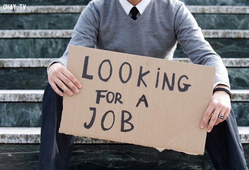 ảnh thất nghiệp