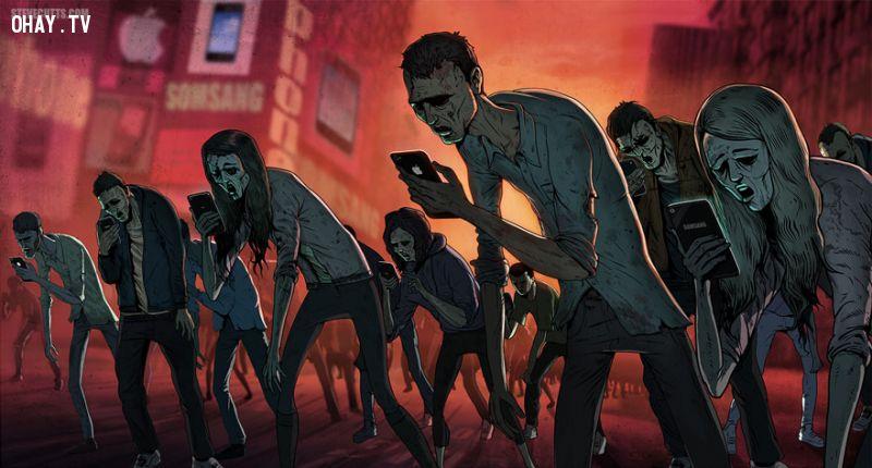 ảnh xã hội,biếm họa,Steve Cutts,ảnh biếm họa,bản chất cuộc sống,xã hội ngày nay,hình biếm họa,biếm họa cuộc sống