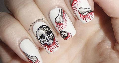 101 mẫu móng tay lấy cảm hứng từ chủ đề Halloween - P2