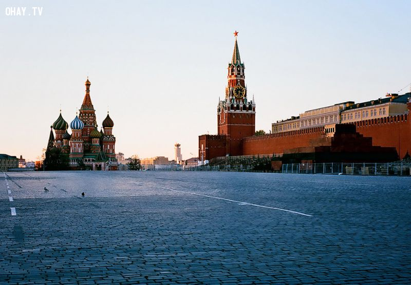 Quảng trường Đỏ và Điện Kremli
