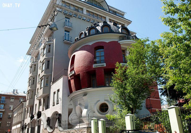 Kiến trúc lạ ở Moscow