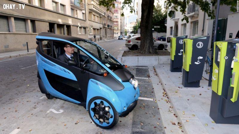 Những phương tiện di chuyển cá nhân thông minh trong tương lai của các hãng xe nổi tiếng