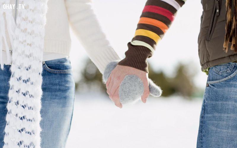 ảnh cái nắm tay,tình yêu,mùa đông