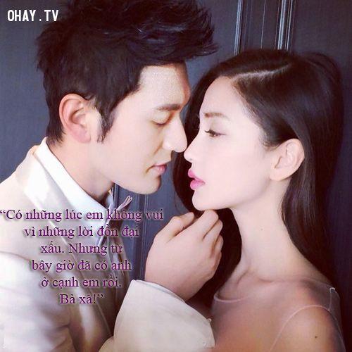 Những CÂU NÓI BẤT HỦ của soái ca Huỳnh Hiểu Minh dành cho người vợ xinh đẹp của mình