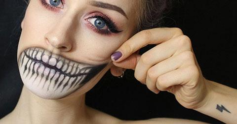 Những cách make up halloween khiến trẻ con khóc thét