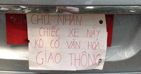 Cười mẻ răng với loạt bảng báo ở Việt Nam