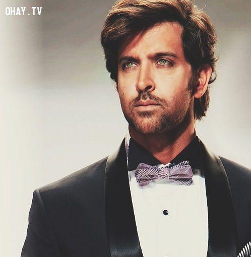 Most handsome men in the world, người đẹp trai nhất thế giới, hrithik roshan