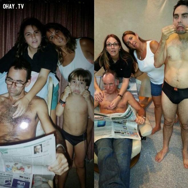 20 TẤM ẢNH gợi nhớ kí ức gia đình KHÔNG THỂ NÀO QUÊN (Phần I)