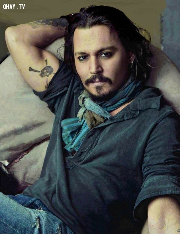 Most handsome men in the world, người đẹp trai nhất thế giới, johnny deep