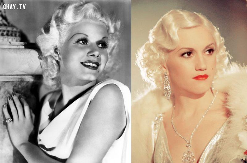 ảnh sao Hollywood,minh tinh huyền thoại,Elizabeth Taylor,Katharine Hepburn,Marilyn Monroe,Grace Kelly,Jean Harlow