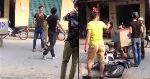 Thanh niên bắt nạt người già bị SOÁI CA dạy dỗ