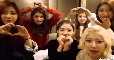 DIA hát mừng sinh nhật đàn chị Soyeon (T-ARA)