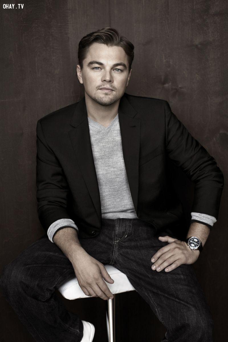 Most handsome men in the world, người đẹp trai nhất thế giới, Leonardo Dicaprio