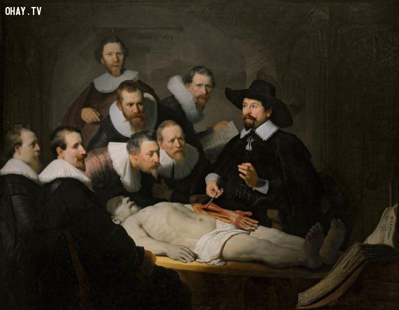 ảnh tranh thời phục hưng,Freddy Fabris,Leonardo da Vinci,Michelangelo,Rembrandt