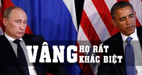 Obama vs Putin - SỰ KHÁC NHAU giữa 2 người đàn ông QUYỀN LỰC nhất hành tinh