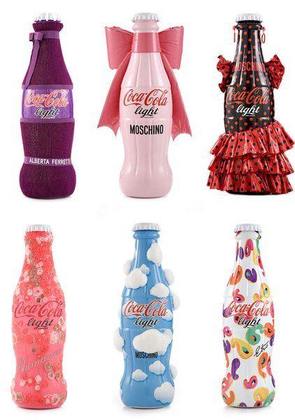 Coca-Cola phiên bản Moschino, Versace, Ferretti và Echo