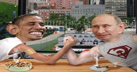 Cười té ghế với loạt ảnh chế Putin