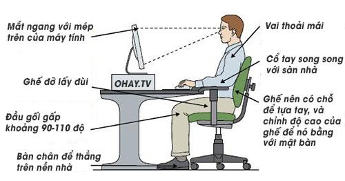 5 cách để giảm bớt tác hại của việc ngồi lâu