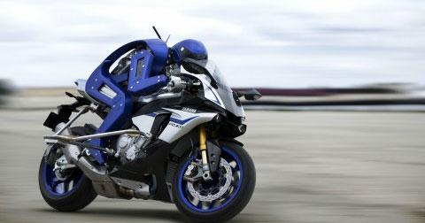 Yamaha giới thiệu robot lái xe điêu luyện